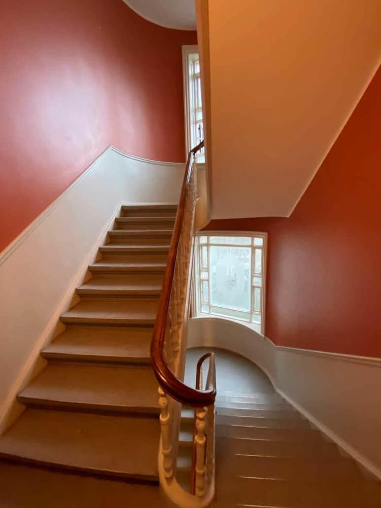 trappeopgang på østerbro