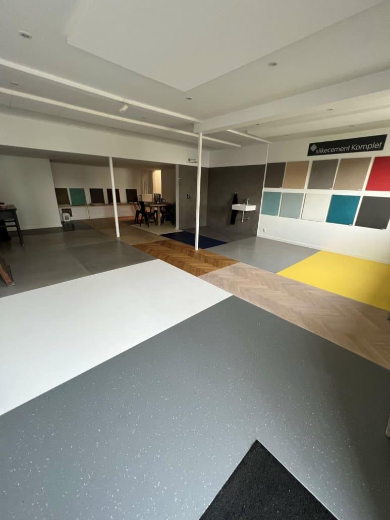 billede af showroom